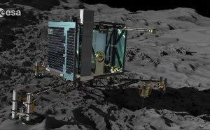 Agência Espacial Europeia (ESA) espera fazer história ao aterrissar uma sonda em um cometa a 500 milhões de quilômetros da Terra