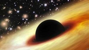 Astrônomos não conseguem explicar como um buraco negro desse tamanho se formou tão cedo na história cósmica  Foto: BBCBrasil.com