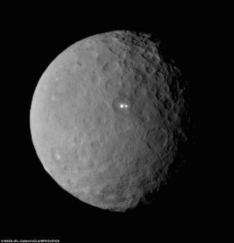 Luz em planeta anão intriga cientistas e ufologistas  Foto: Daily Mail / Reprodução
