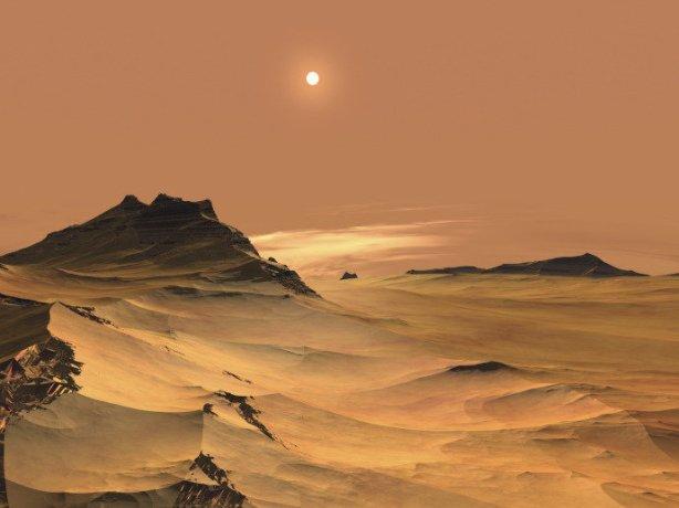 Em partes do dia, pode existir água líquida na superfície do planeta vermelho(iStockphoto/Getty Images)
